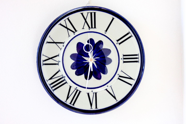 Rorstrand ロールストランド陶製の壁掛け時計